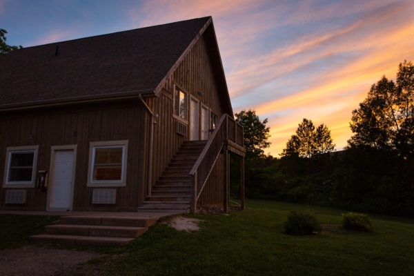 Cabins for overnight accommodations at Upper Canada Camp for Christian Group Retreats near Toronto