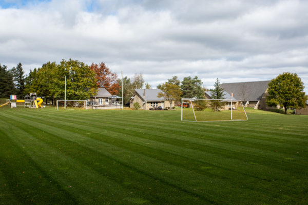 Soccer and Sports Fields at Upper Canada Camp, a retreat centre for Christian Groups from Toronto and across Ontario