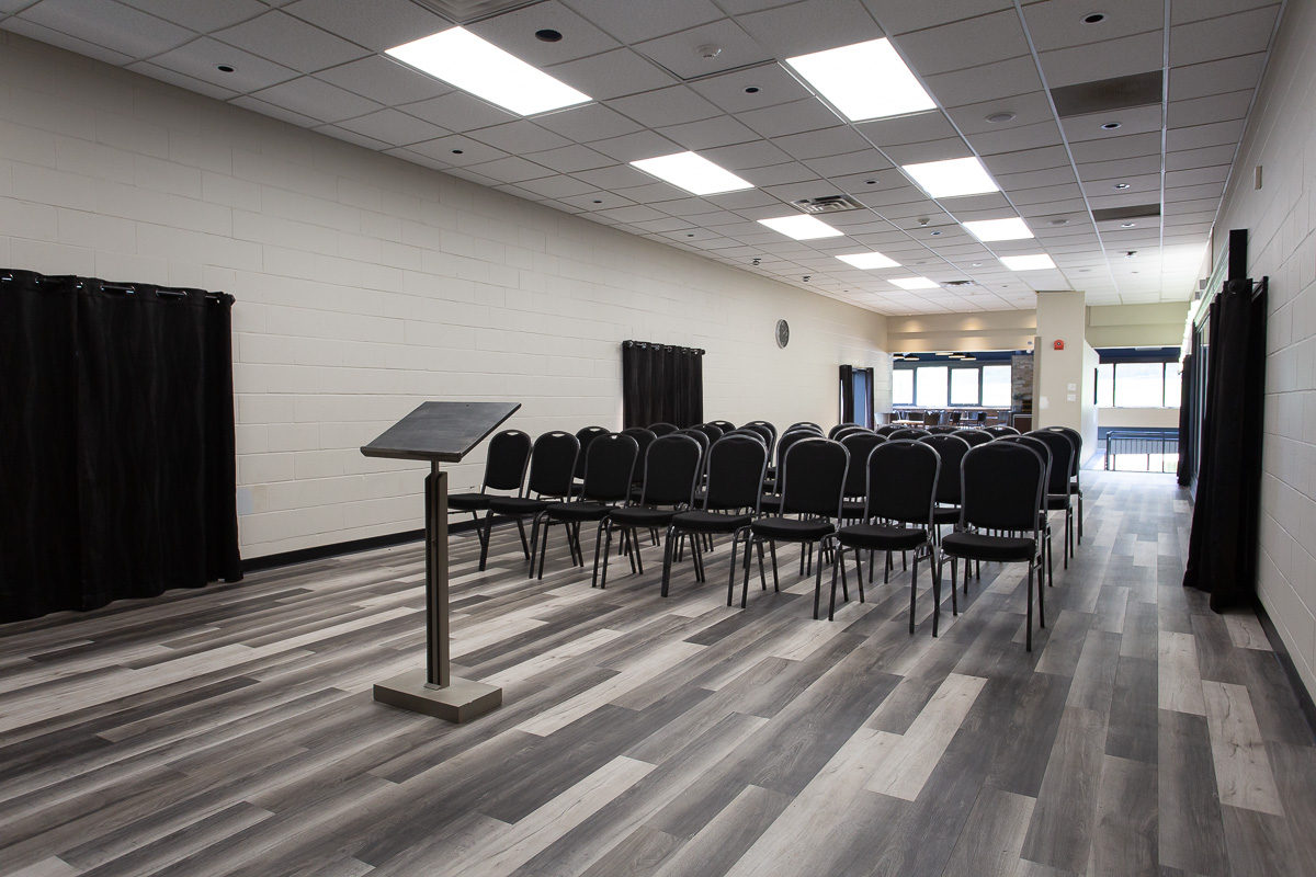 Small breakout room for christian gatherings at Upper Canada Camp Retreat Centre